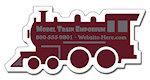 Train Engine Shape Magnets